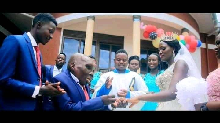 Africa: Uganda's Ugliest Man Ssebabi Ties Knot With Second Wife [Pictures]