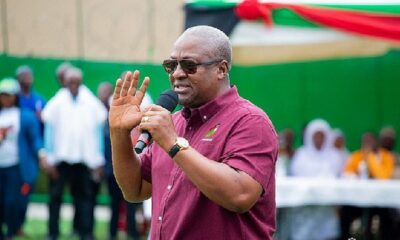 'God You Are Not So Wicked To Give Us Another Four Years Of Nana Akufo-Addo'- John Mahama Prays To God