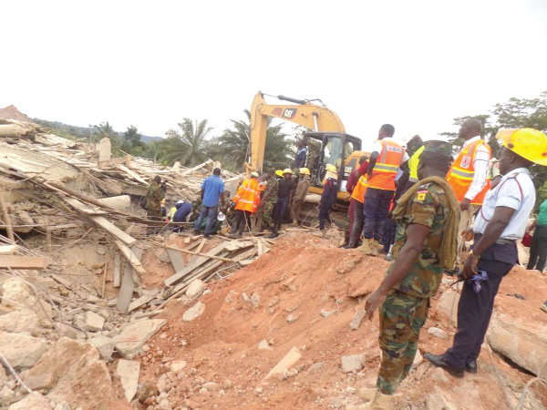 Collapsed Church Building: Families in Despair as Death Toll Rises to 22