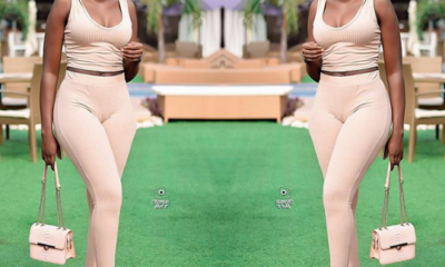 Fella Makafui Flaunts Her 'Bortos' After Being Criticize for Allegedly Wearing Pampers
