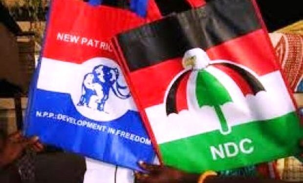 JUST IN: NPP, NDC Supporters Engaged in Bloody Fight [Videos]