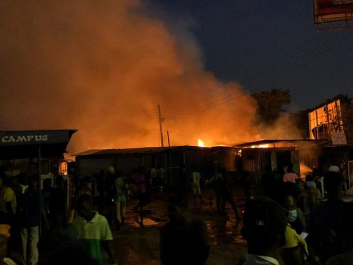 Fire Ravages Odawna Market Again