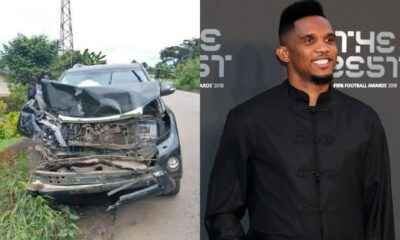 African Football Legend Samuel Eto'o Involved in Accident