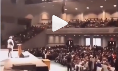 [Watch] shocking! Pastor Flies While Preaching in Church