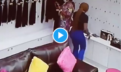 Woman Caught Stealing From Shopping Mall