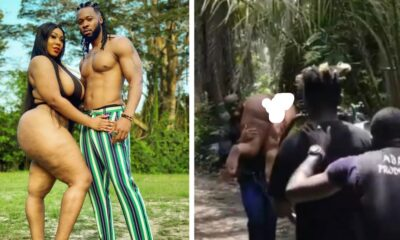 [WATCH] Video of Flavour Carrying a Naked Lady in New Music Video Pops Up Online