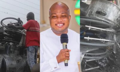 Samuel Okudzeto Ablakwa Buys Wheelchair For All Physically Challenged People In His Constituency As Xmas Gift