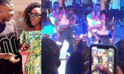 Stonebwoy Grinds Efya Like A Stripper In Front Of His Wife At The Activate Party, See Dr. Louisa's Reaction