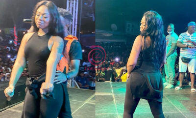 Video: Underground Singer, Nautyca Seriously Grinds Shatta Wale's Baby Mama, Michy On A Big Stage Publicly