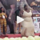"""Hilarious Moment as Yaw Dabo Struggles To Grind """"Obolo"""" Woman [Video]"""