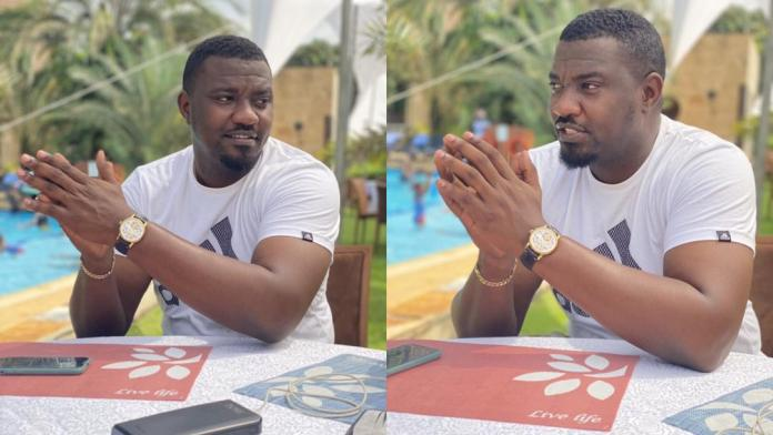 Actor John Dumelo savagely replies a fan who asked why he is not wearing his wedding ring
