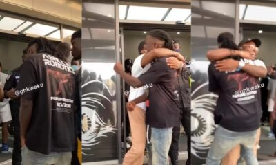 Video: Davido Finally Arrives In Ghana For Stonebwoy's 'Activate Beach Party'