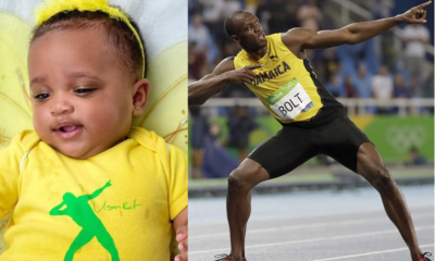 Usain Bolt Drops Adorable Photos of His Daughter