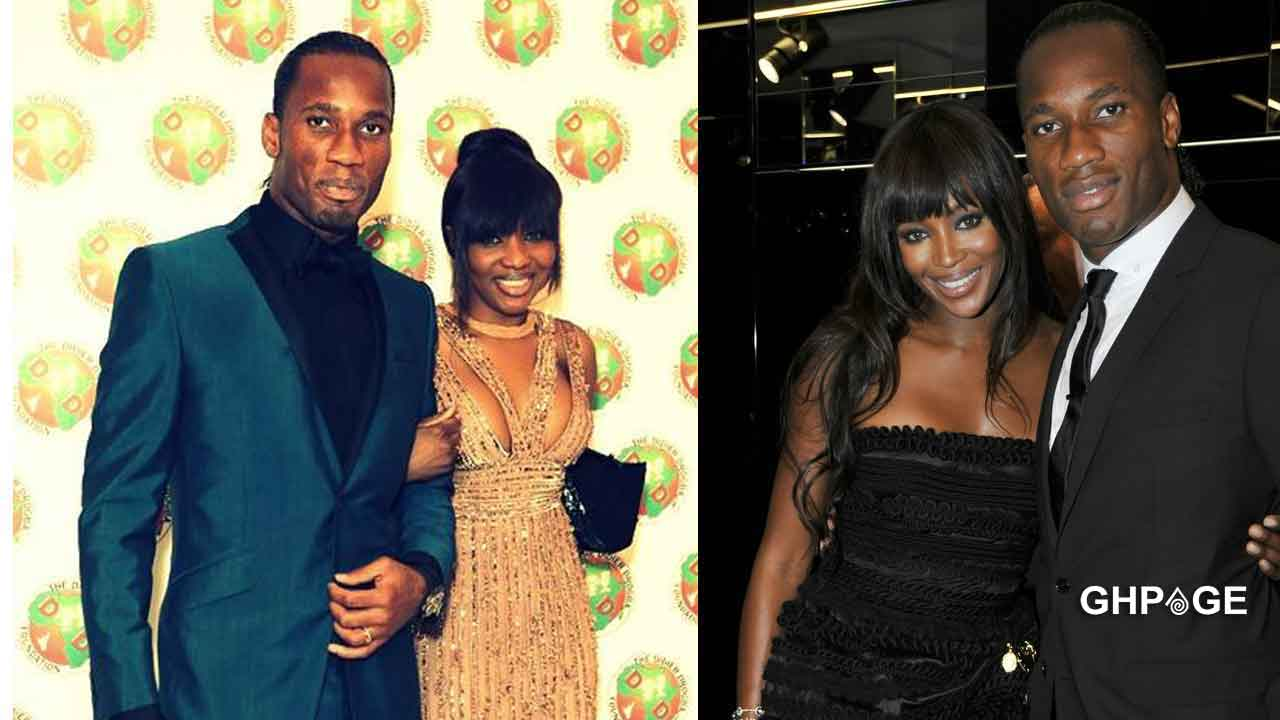 Didier Drogba and His Wife Separate After 10years of Marriage