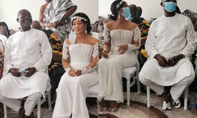 Kennedy Agyapong's Marries A Lady Old Enough To Be His Daughter, See Photos From The Wedding