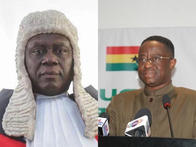 Supreme Court Dismisses Injunction Against Amewu, Says He Is Not Responsible For EC's Incompetence