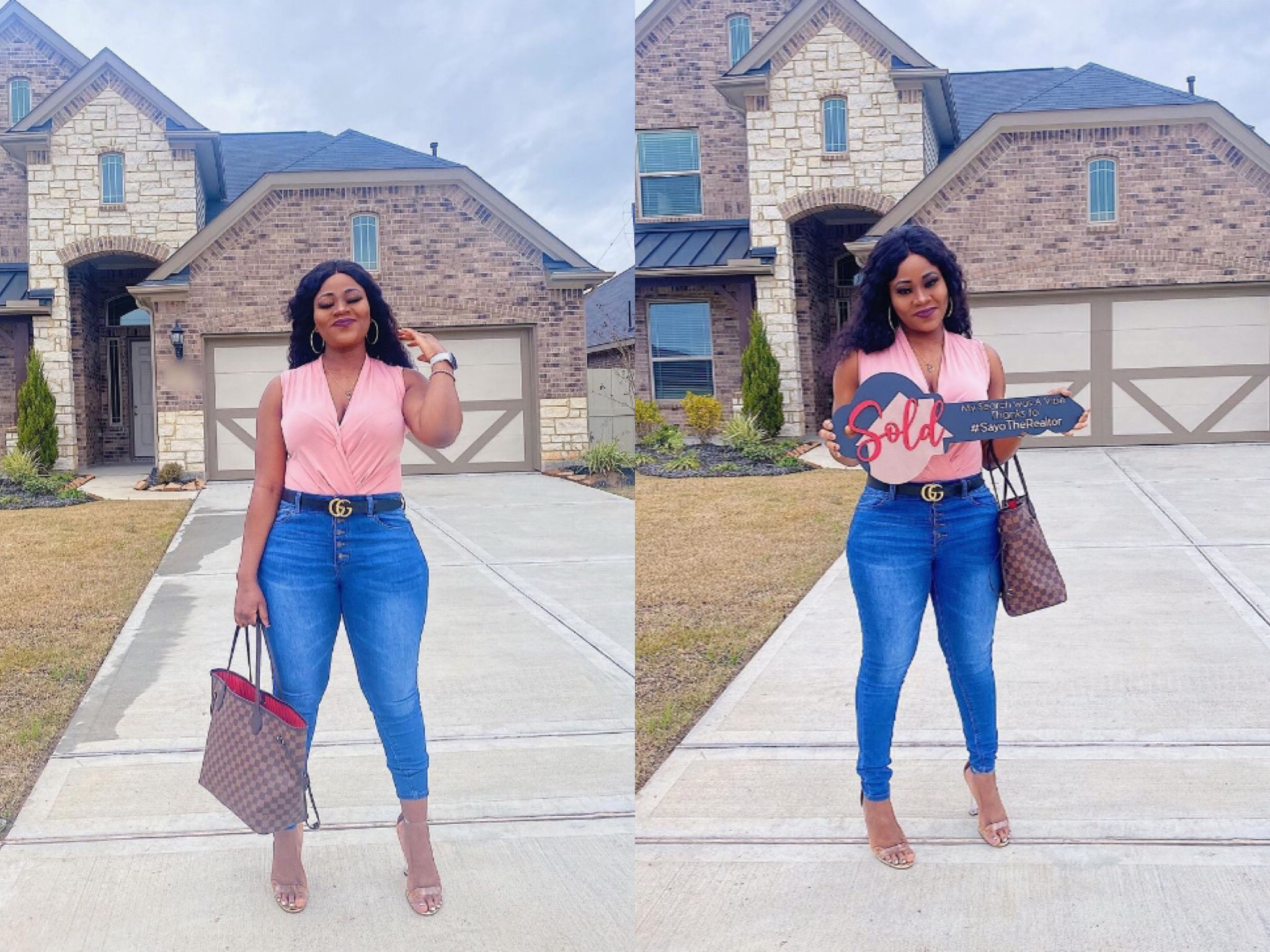 Single Nurse Celebrates After Buying Her Own House Without The Help Of Any Sugar Daddy, See Photos
