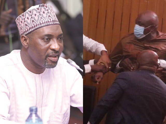 Muntaka Finally Revealed Why He Was Able To Easily Grab Ahenkorah After Snatching The Ballot Papers