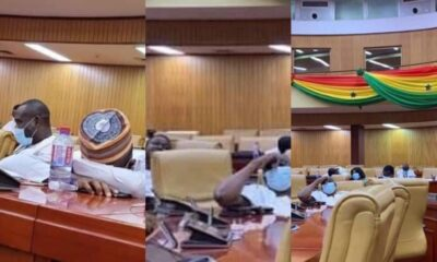 NPP MPs Seen Sleeping In Parliament After Entering Chamber As Early As 4 am Just To NDC MPs Side