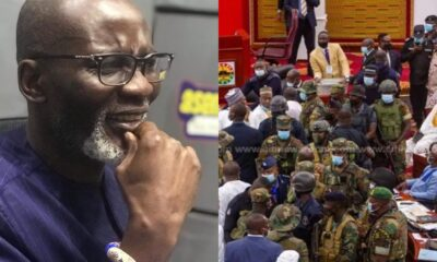 Ghanaians Blast Gabby Otchere Darko For Defending Government Ordering Military Invasion Of Parliament To Intimidate NDC MPs