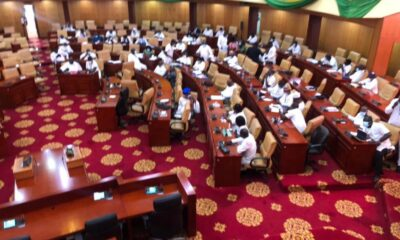 NPP MPs Turn Choristers After Being Declared Majority Group In Parliament