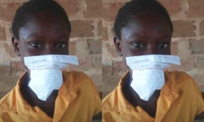 Primary Pupils Resort to Using Paper as Nose Masks as Government Fails to Provide PPEs After Reopening Schools