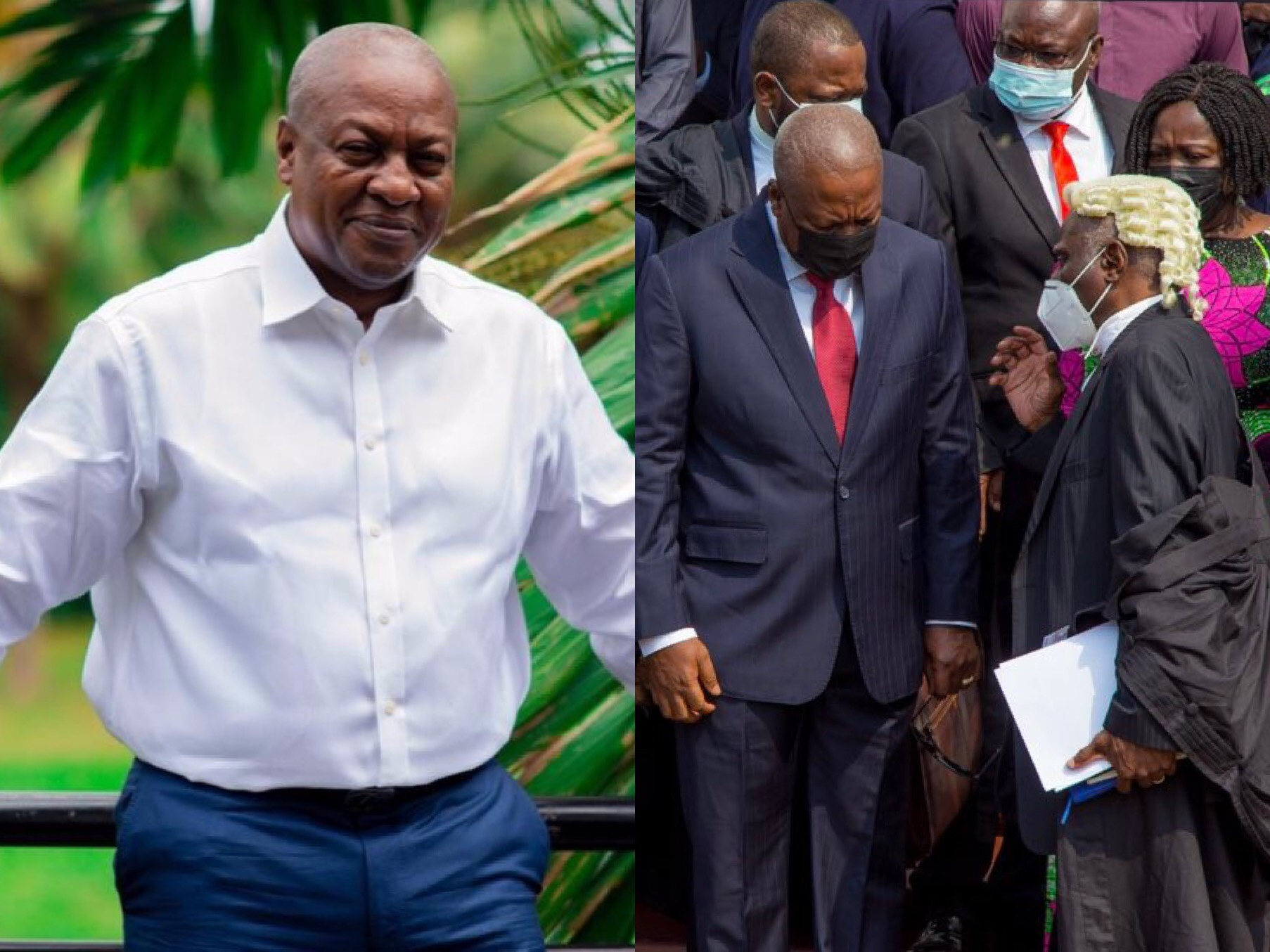 Mahama files application to halt election petition hearing until Supreme Court reviews decision of not allowing interrogatories