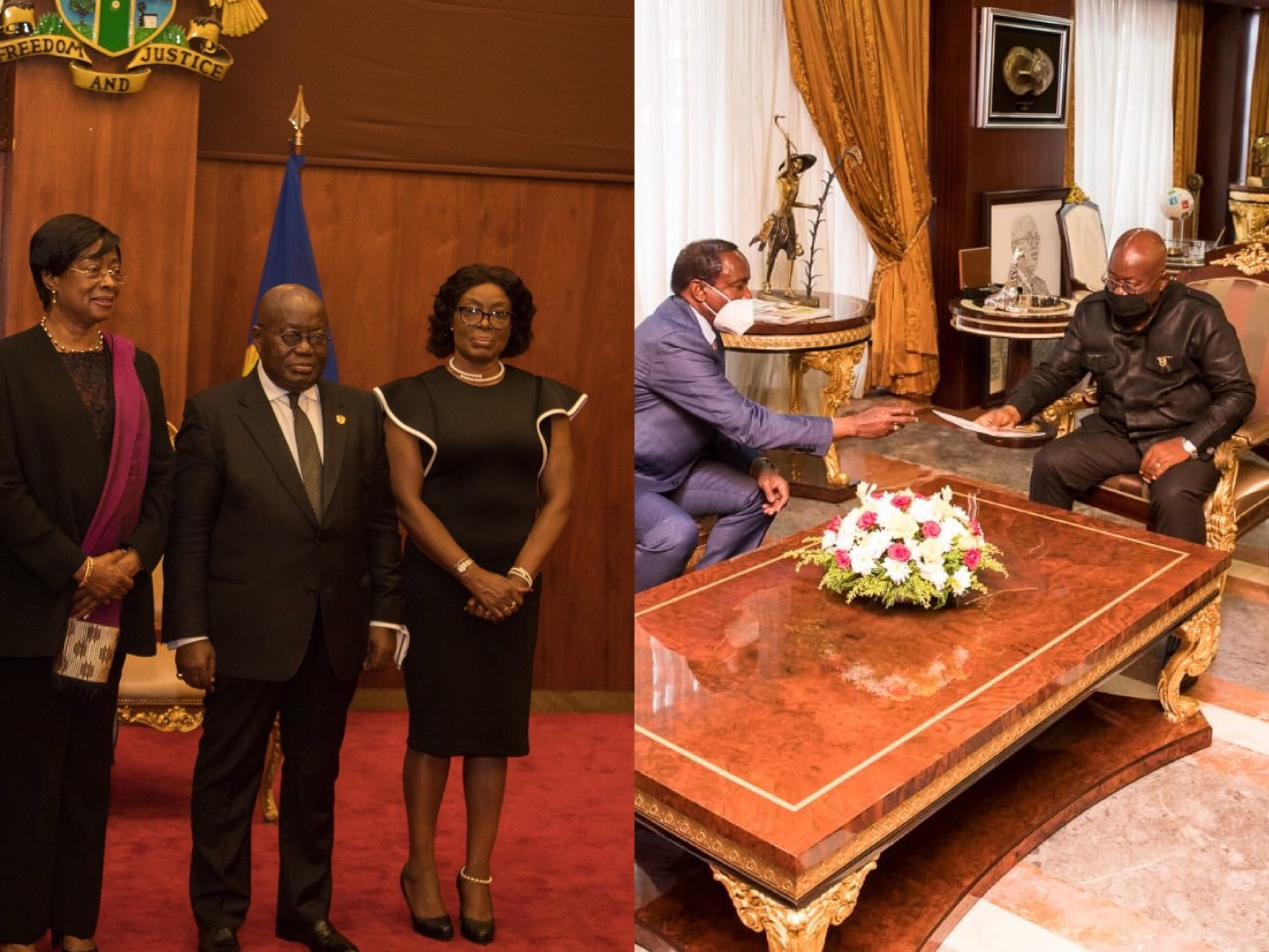 I'll Give You Another Job – Nana Addo Consoles Non Performing and Sacked Former Ministers