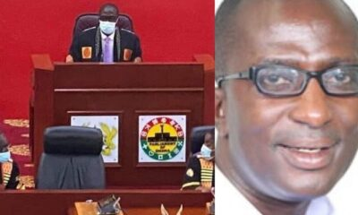 Formena MP Presides Over Parliament As Speaker Just 2 Months After Former Speaker Mike Oquaye Sacked Him