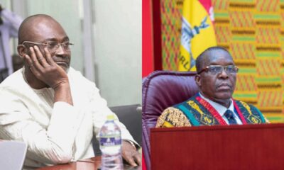 This Video Shows How Kennedy Agyapong Became Soft Like Bread Alban Bagbin Told Him To Shut Up And Sit Down