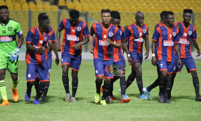 GHPL: Legon Cites Shock AshGold With Win 5-2 to Move Out of Relegation Zone