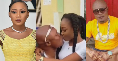 Bukom Banku Spotted Kissing Actress Akuapem Poloo Passionately in a New Video [Watch]