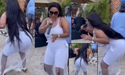 Nana Ama McBrown Displays Her Twerking Skills [Video]