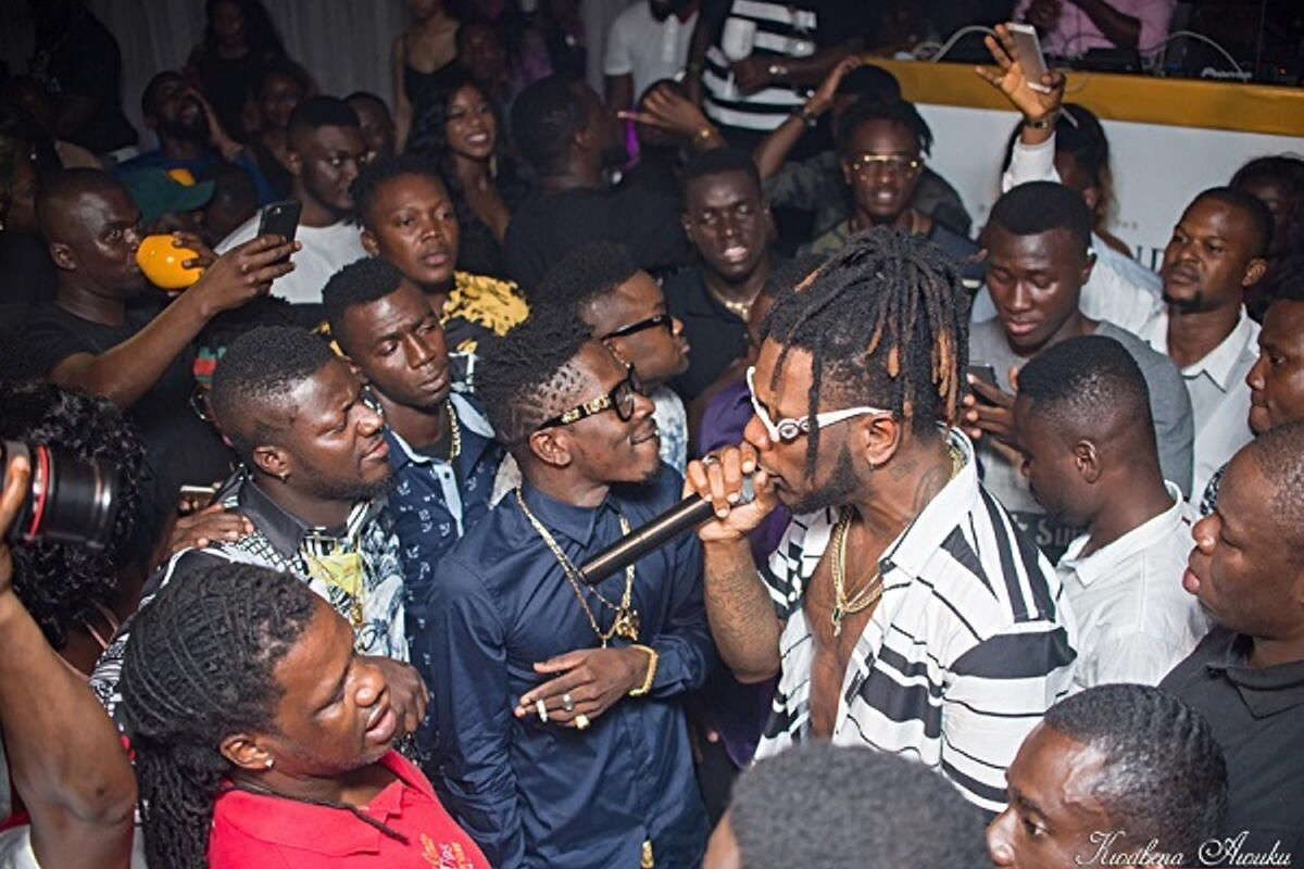 Video: Shatta Wale opens fire on Burna Boy for spreading false rumours about him