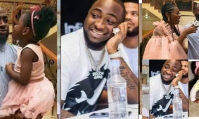 Davido Scatter His Body With Tattoos of His Three Kids, Drops Video On Social Media [Watch]