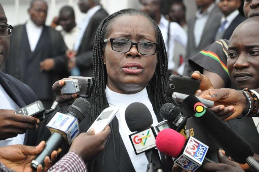 Gloria Akuffo Does Not Deserve to be Chief Justice After Helping the EC to Deny Sall the Right to Vote
