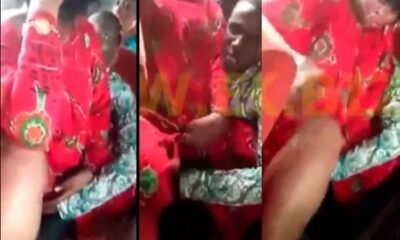 Woman Openly Allows a Man to F!nger Her In a Bus [Video]
