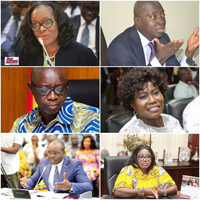Meet The Powerful Ministers Who Are Now Jobless in Akufo-Addo's 2nd Term