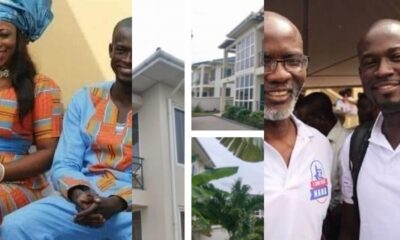 Photos: Ghanaians Left in Shock Over the Properties Owned By Akufo Addo's Communications Director, Eugene Arhin in just 4 Years