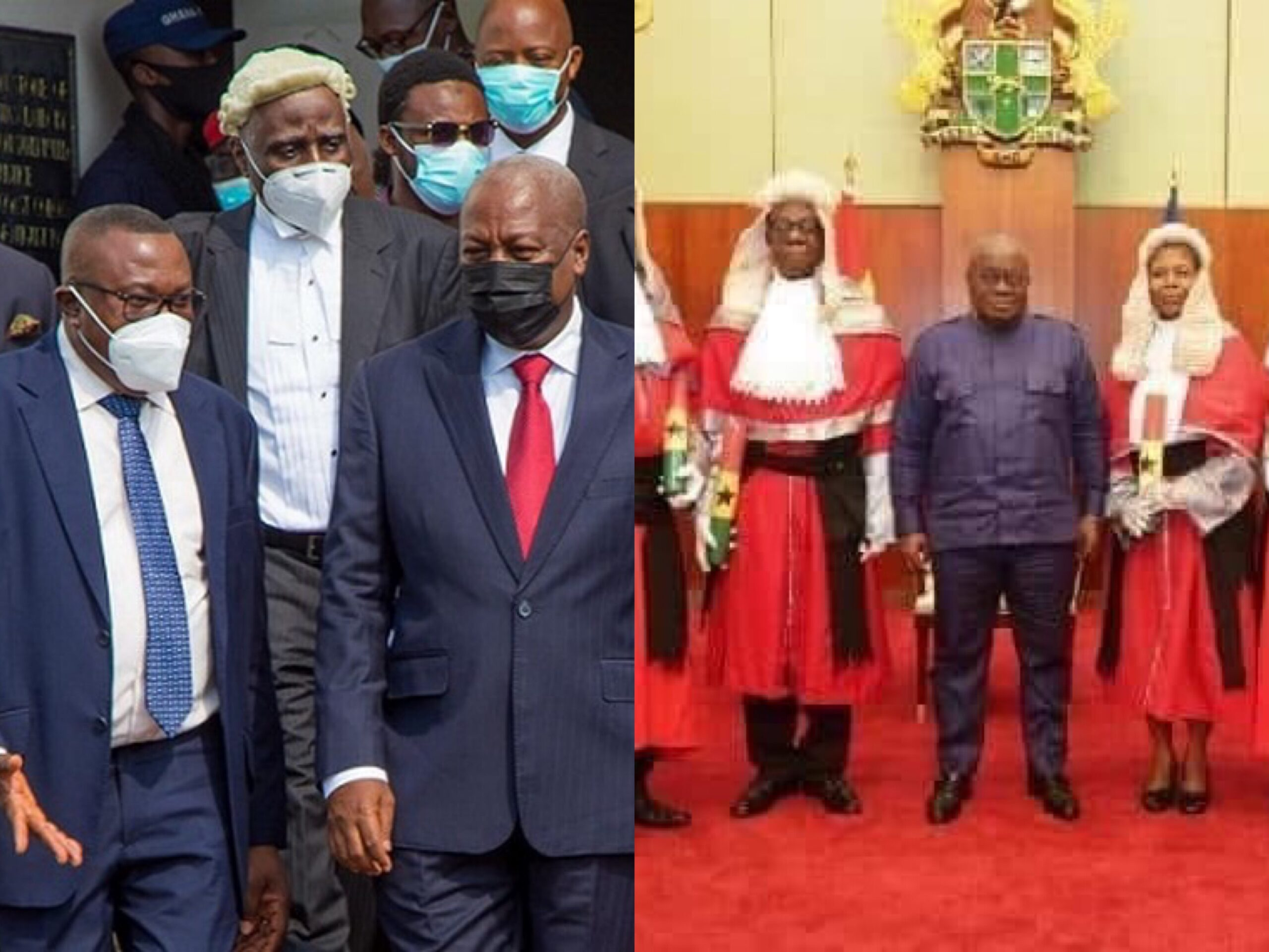 John Mahama's Lawyers Asks Chief Justice To Delay Today's Hearing By 2 Hours