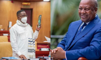 Peter Amewu Apologizes And Withdraws His Comment Against Mahama At Vetting Committee