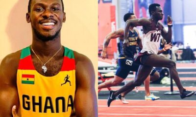 Video: Ghanaian Sprinter, Benjamin Azameti Breaks National Record in 100m Race in America