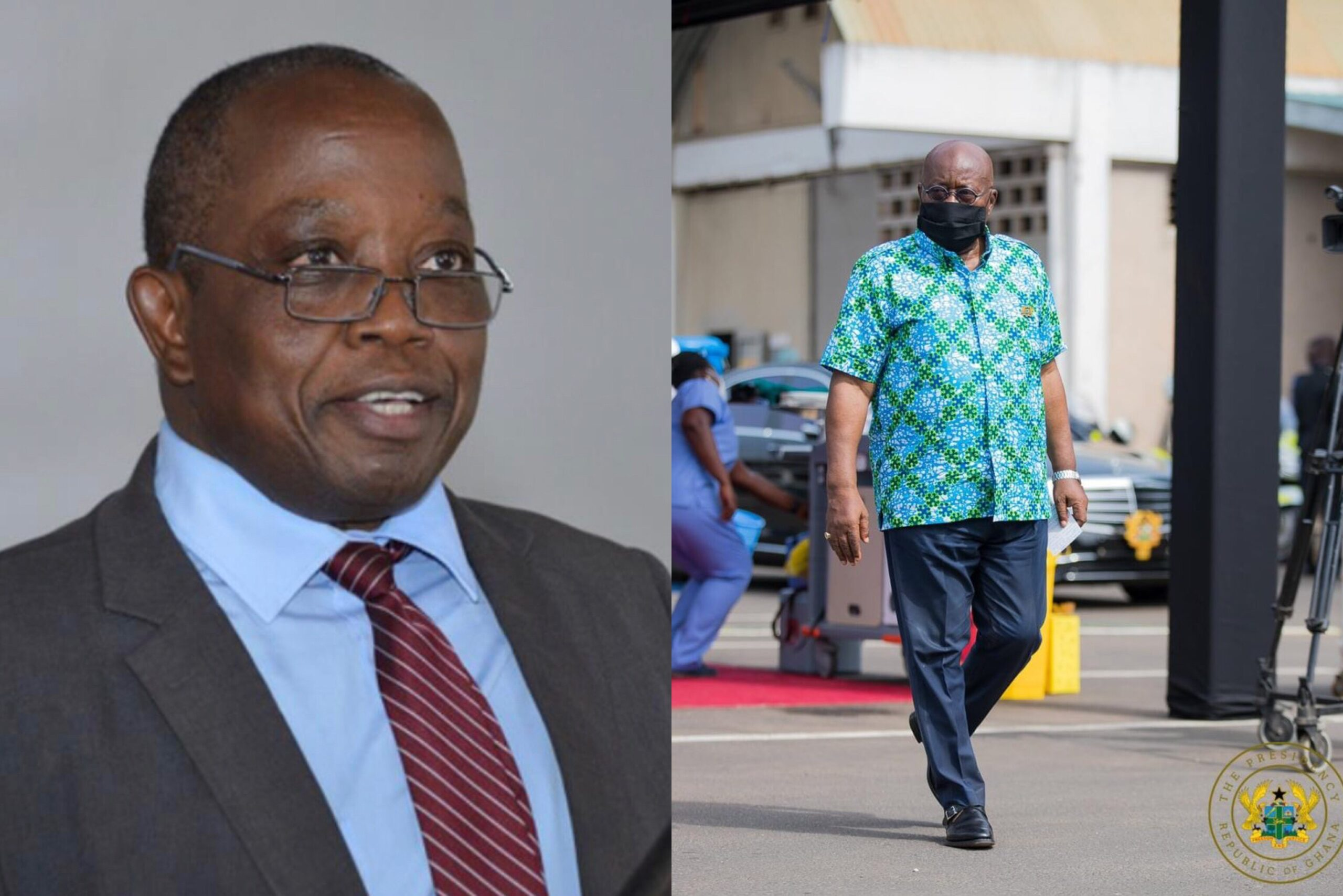 Domelevo Finally Resumes Work On March 3 After Akufo-Addo Forced Him on Leave for 167 Days