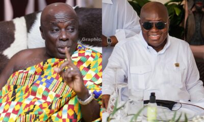Angry Okyenhene Threatens To Lead Campaign Against Akufo-Addo's Community Mining