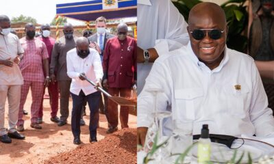 Ghanaians Blast Akufo-Addo For Choosing To Build Award House After Failing to Build the 88 Hospitals He Promised Before Elections