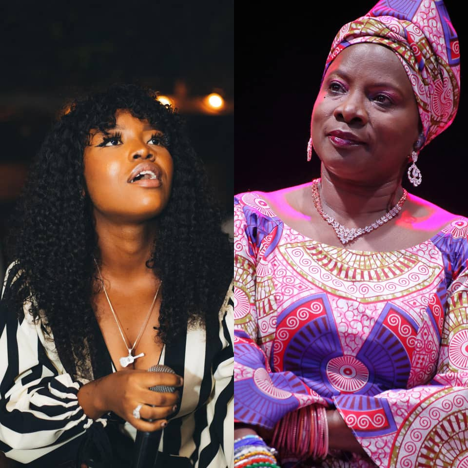 Gyakie Blast With Joy As Grammy Winner Angelique Kidjo Introduces Her At A Music Concert