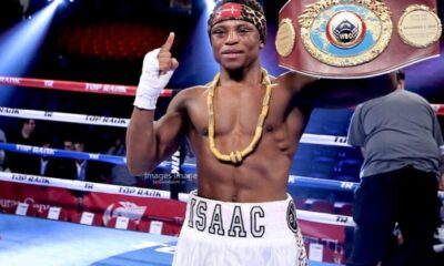 People Wrote Me Off After Losing To Navaratte - Dogbe Replies Critics After Victory Over Lopez