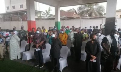 NDC Defy Rain To Celebrate June 4th In Rawlings Absence