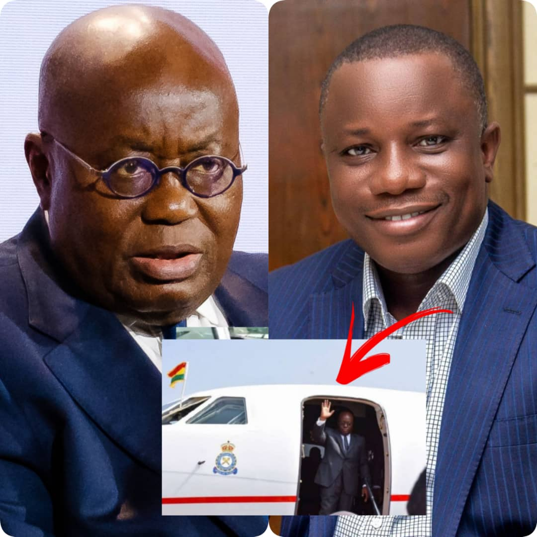 Time For New Presidential Jet — Defence Minister Pleads After Spending $15,000 On Private Jet For Nana Akufo-Addo