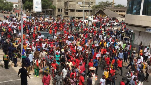 No One Can Stop Us; We Are Demonstrating - FixTheCountry Campaigners To Police